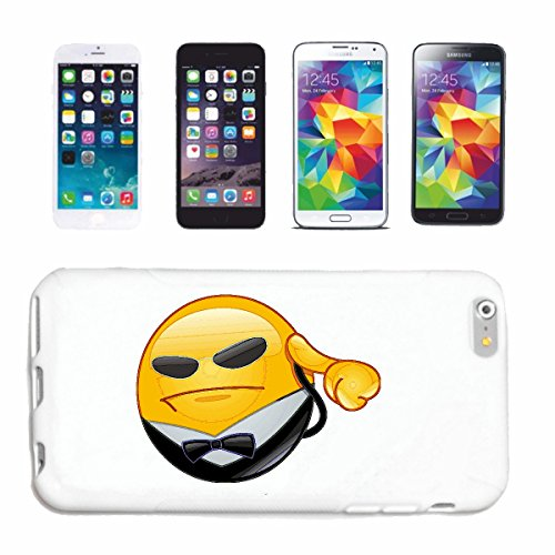 "cas de téléphone Samsung Galaxy S6 ""ARROGANT SMILEY MONTRER LA BIRD ""smile EMOTICON APP de SMILEYS SMILIES ANDROID IPHONE EMOTICONS IOS"" Hard Case Cover Téléphone Covers Smart Cover pour Samsung Galax"