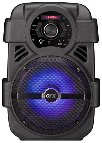 QFX PBX-8 Rechargeable 8' Party Speaker