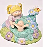 Cabbage Patch Kids Music Box Figurine Porcelain Xavier Roberts - Its A Small World