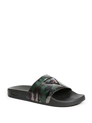4d36b62cb05acb Image Unavailable. Image not available for. Color  GUESS Men s Isaac Slide  Sandals