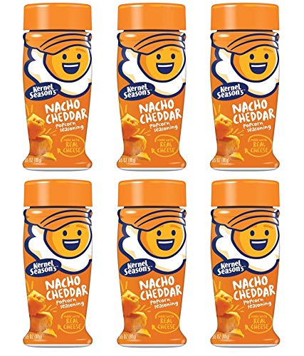 Kernel Season's, Popcorn Seasoning, Nacho Cheddar, 2.85 ounce (Pack of 6)