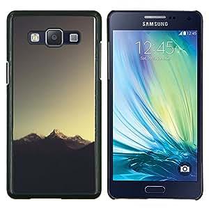 Qstar Arte & diseño plástico duro Fundas Cover Cubre Hard Case Cover para Samsung Galaxy A5 A5000 (Sugerencia Montaña)