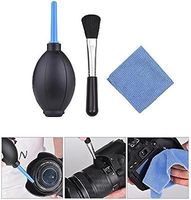 TOPTOO Kit de Limpieza de la cámara 3 en 1 para Limpiar el Polvo ...