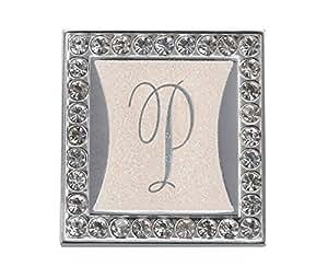 Lillian Rose Monogram Clip with Frame, Letter P