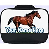 Brown Horse /Pony Personalised Children's School Lunch Box / Bag