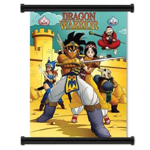 dragon quest wall scroll - 2