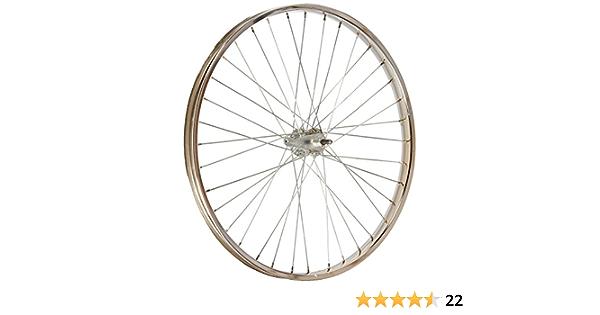 "Heavy Duty Beach Cruiser Bicycle 26/"" x 2.125 Front Wheel Chrome Rim 12g spokes"