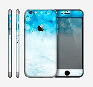The Winter Blue Abstract Unfocused Skin for the Apple iPhone 6