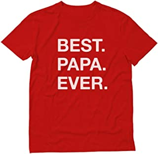 TeeStars - Best. PAPA. Ever. Gift for Dads Father's Day T-Shirt