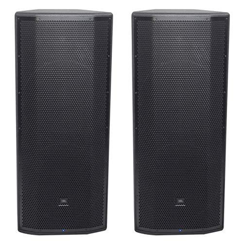 ((2) JBL Pro PRX825W Dual 15 3000w 2-Way Powered Speakers w/WIFI + Mobile)