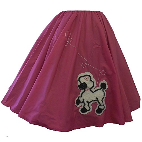 Adult Poodle Skirt (Pink Poodle Skirt Grease)