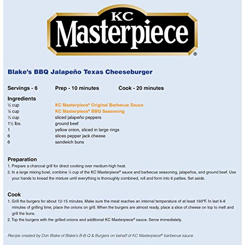 KC Masterpiece Barbecue Seasoning, 6 Ounces (Pack of 6)