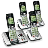 VTech CS6529-4 DECT 6.0 Phone Answering System with Caller ID/Call Waiting
