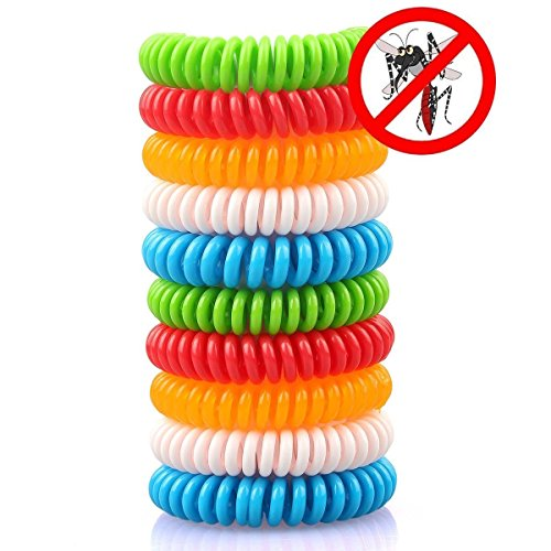 REIS REACH Mosquito Repellent Bracelet Band For Adults, Kids, Pets - 12 pack - 350 Hours - Premium Natural Waterproof Bug Repellent - Indoor/Outdoor with NO Spray - Individually Wrapped and Resealable (Best Insect Repellent For Africa)