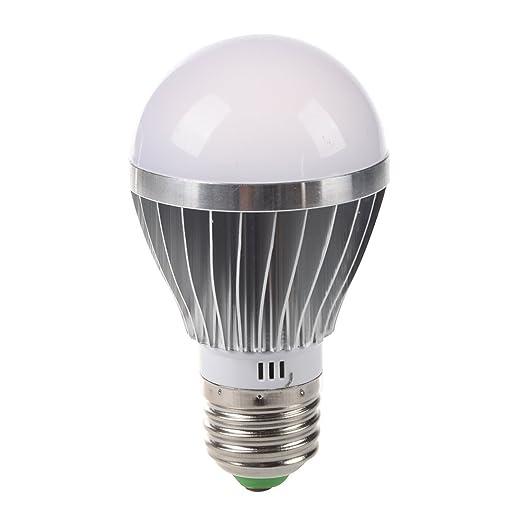 SODIAL(R) E27 5w 12v Bombilla LED blanco de alta potencia