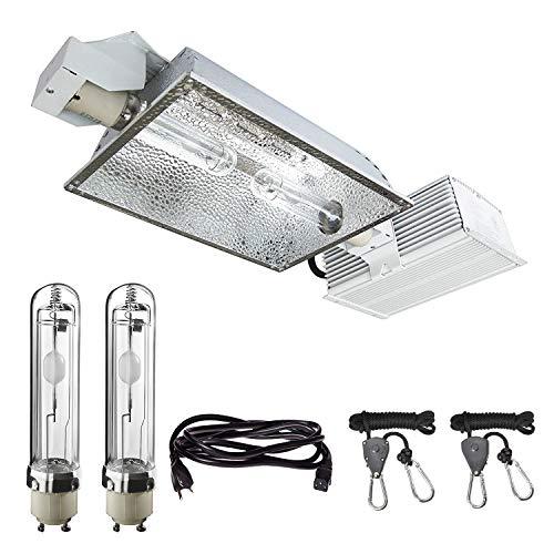 XAMT CMH/CDM Grow Light Kit 630 Watt with Ballast Reflector Bulb Fixture for Plant Growth 1 Pack