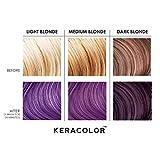 Keracolor Clenditioner Color Depositing Conditioner Colorwash Purple, 12 Fl Oz