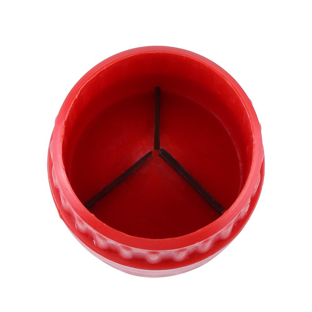 Manual Pipe Red Reamer Inner Outer externo herramienta de plomer/ía para PVC tubo de cobre//tubo CM-208