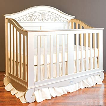 Amazon Com Chelsea Lifetime Crib In Antique Silver Baby