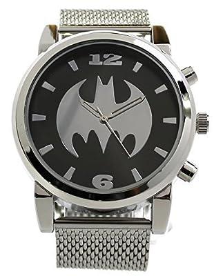 Batman Silvertone Mesh Strap Watch (Bat8043)