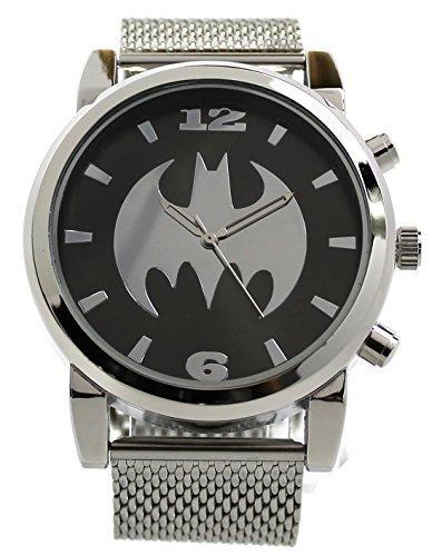 - Batman Silvertone Mesh Strap Watch (Bat8043)