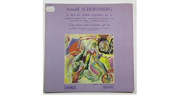 Arnold Schoenberg, Gunter Wand, Orchestre Symphonique Du ...
