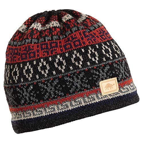 Turtle Fur Hawkeye Men's Classic Wool Ski Hat Copper ()