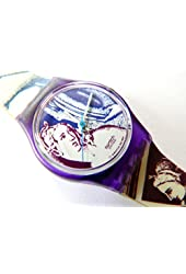 1991 Ladies Standard Swatch Watch Sappho LV101
