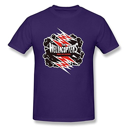 Boyfriend Funny Brand New The Hellacopters Tshirt Size S Color Purple
