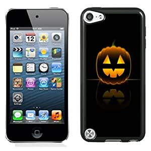Fashion DIY Custom Designed iPod Touch 5th Generation Phone Case For Halloween Pumpkin Smile Phone Case Cover