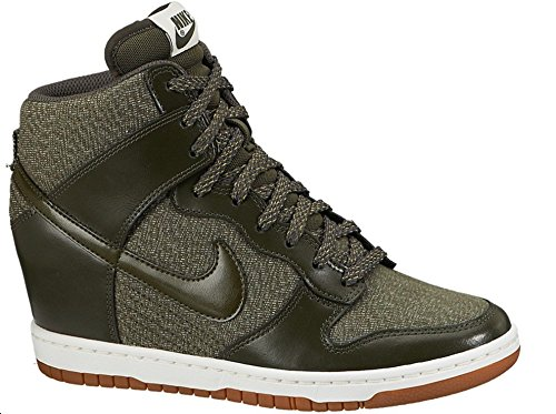 Women's Nike Dunk Sky HI Essential Wedge Shoes. Size 12.