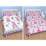 Peppa Pig Tweet Double Duvet Set Quilt Cover and Pillowcases 100% Polyester by Disney