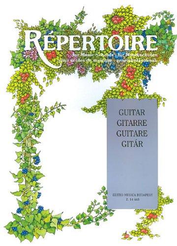 Repertoire for Music Schools: Guitar PDF