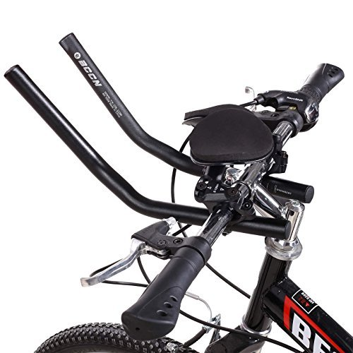 Ancheer TT Handlebar Aero Bars Triathlon Time Trial Tri Cycling Bike Bicycle Aerobars (Road Bike Triathlon Handle Bars)