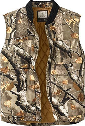 - Legendary Whitetails Men's Canvas Cross Trail Vest Big Game Field Camo Medium