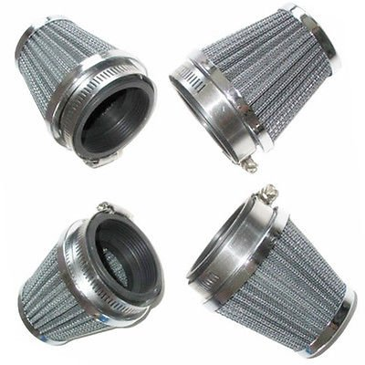 4 × 54mm Motorcycle Air Filters For Yamaha XS1100 XJR1200 XJR1300 FJ1100 FJ1200 FZR1000 XS650 Custom JYMotor
