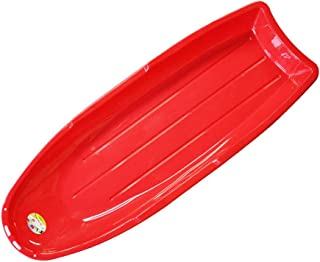Wgwioo Snow Toboggan Sled pour Outdoor Slider Downhill Snow Board