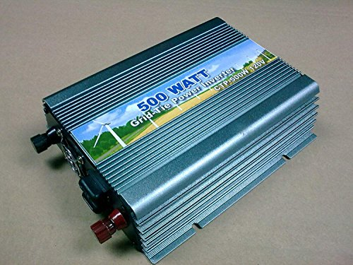 500W Grid Tie Inverter DC20-50V AC110V MPPT Power Solar Inverter by BBGS