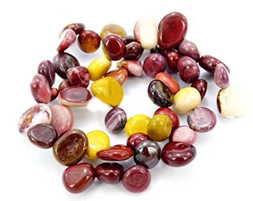 AAA Natural Mookaite Jasper Gemstones Smooth Teardrop Loose Beads Free-form ~18x10mm beads for Jewelry Making (1 strand, ~16