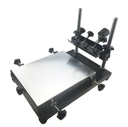 Amazon com: CGOLDENWALL Automatic SMT/SMD Screen PCB Stencil Printer