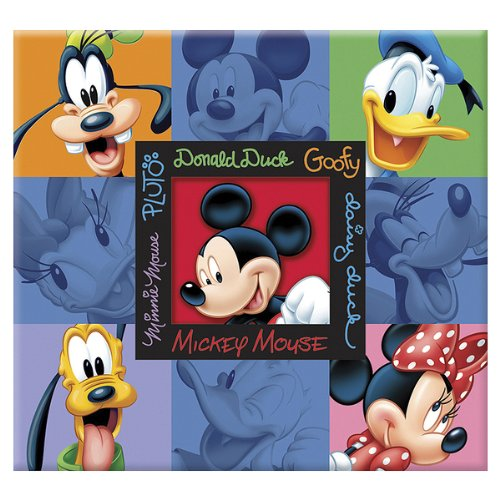 Embossed Mickey Postbound Album (Disney Embossed Postbound Album - Mickey & Friends 1 pcs sku#)