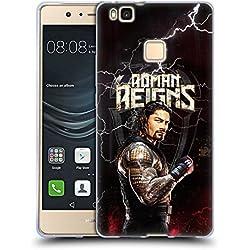 Official WWE Roman Reigns Superstars Soft Gel Case for Huawei P9 Lite / G9 Lite