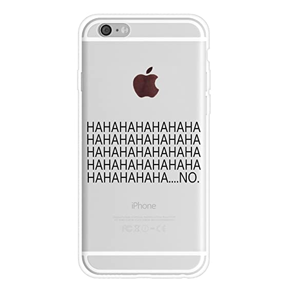 huge discount 8abc4 d3757 iPhone 8 Plus Case Quotes Funny,iPhone 7 Plus Case Girls,Sassy Hipster  Trendy Cute Kuso Chic Cool Attitude Hahaha No Quotes Slogan Saying Clear  Rubber ...