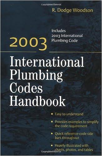 2003 International Plumbing Codes Handbook R Dodge Woodson