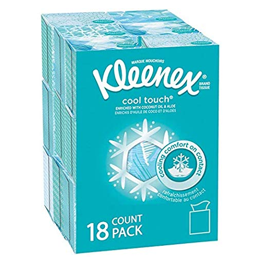 Kleenex Cool Touch Facial Tissues 50 tissues, by Kleenex