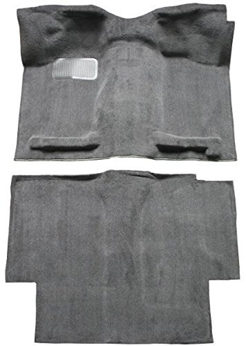 1987 to 1997 Nissan King or Extended Cab Pickup Truck Carpet Custom Molded Replacement Kit (801-Black Plush Cut Pile) - 97 Nissan King Cab