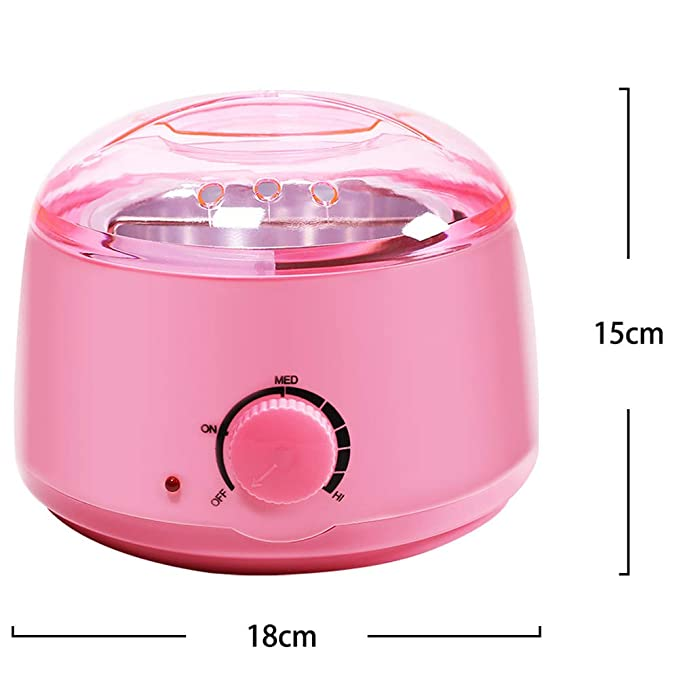 YMN para Microondas Calentador de Cera, con Control de Temperatura ...