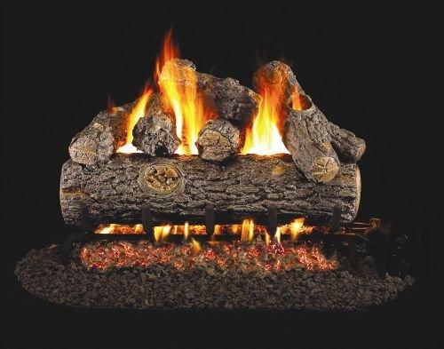 Plus Log Oak Designer (See Thru Golden Oak Designer Plus Gas Logs - 20 Inch)
