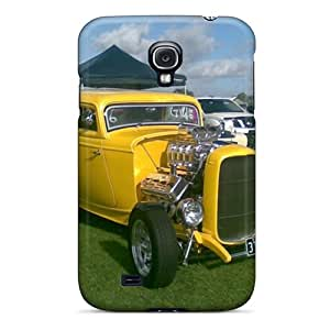 First-class Case Cover For Galaxy S4 Dual Protection Cover A Neat Hot Rod