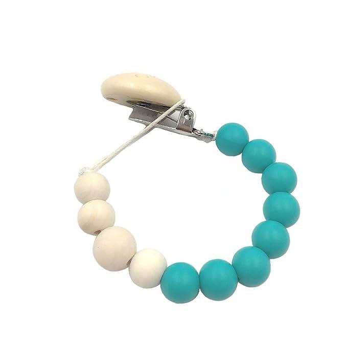 Coskiss Verde La dentición de silicona Piedra maniquí del ...